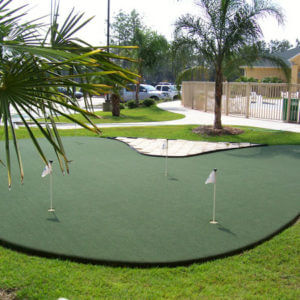 Backyard Custom Putting Green, AllSport America