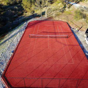 Artifical Clay Tennis Court