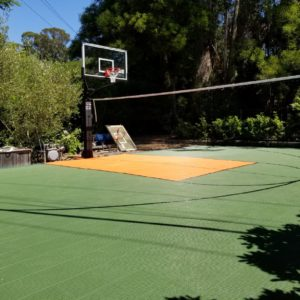 Backyard Sport Court Flooring Athletic Surfacing