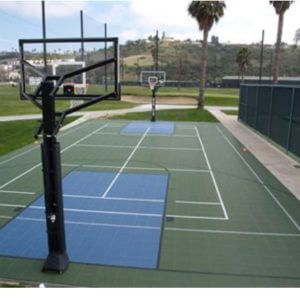 Commercial Outdoor Sport Court Basketball and Tennis Court