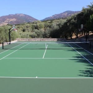 Backyard Residential Tennis Court Nova Pro Bounce