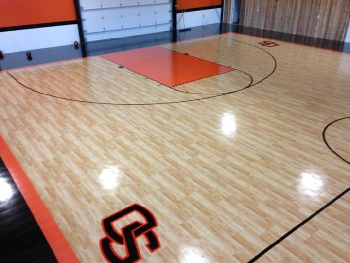 Sport Court Indoor Gymnasium Maple Athletic Flooring. Allsport America