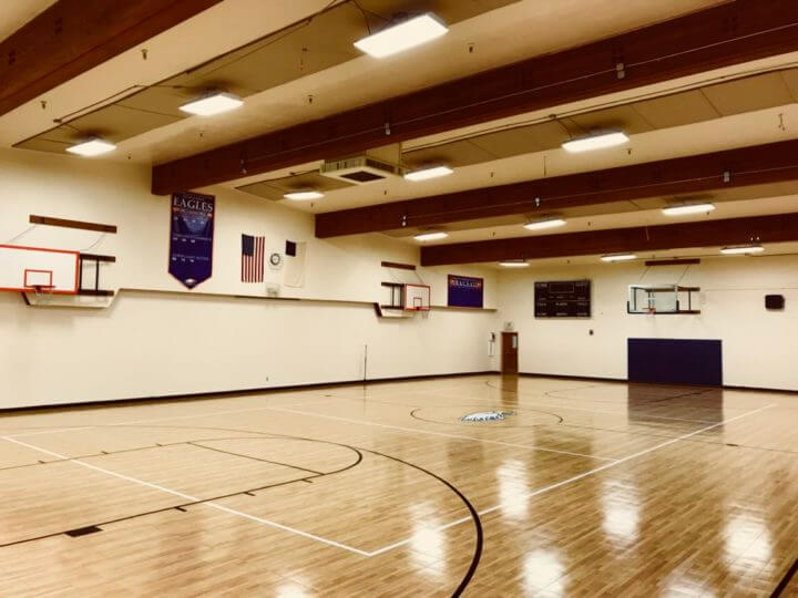 Response HG Maple Select Indoor Basketball Surface Installation Complete