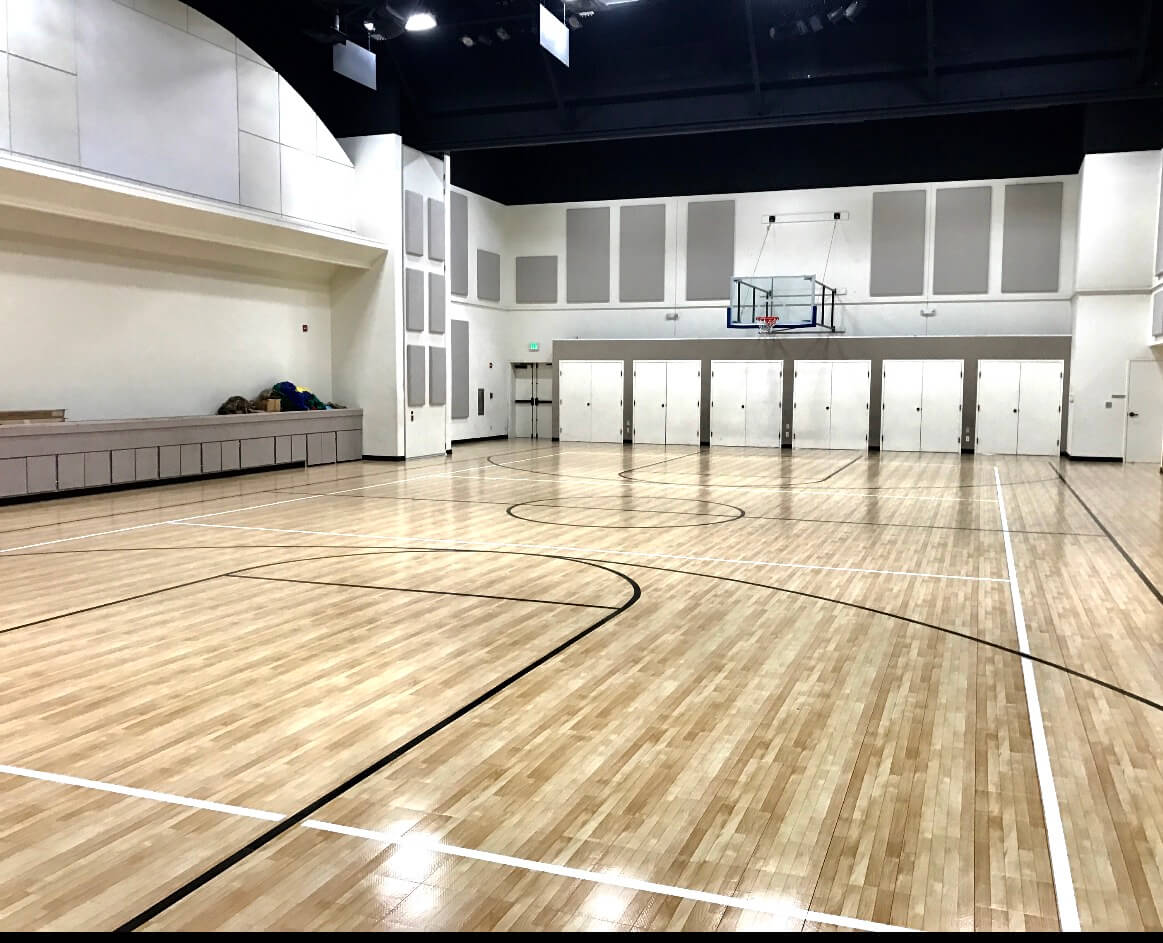 indoor maple select sport court