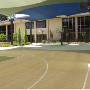 Outdoor Commercial Sport Court Game Court EBAY Campus, San Jose, CA