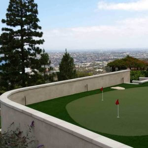 Custom Putting Green