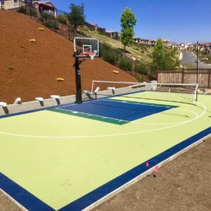 Backyard Basketball Court Castro Valley Sport Court