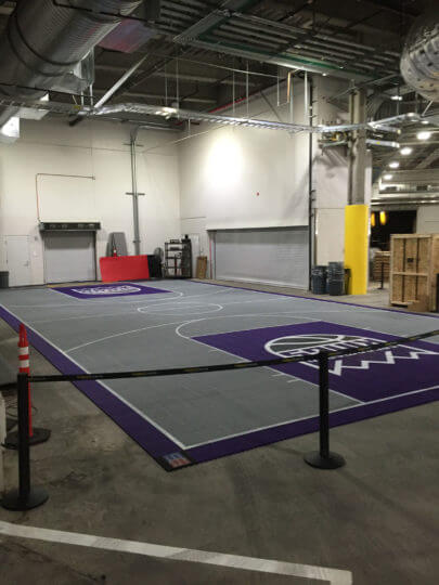 Sacramento Kings Indoor Court Fanzone