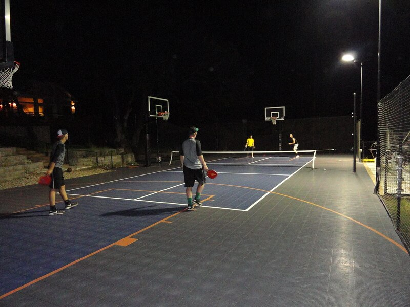 Backyard Pickleball Court, Sport Court   AllSport America