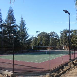 Backyard Sport Court Tennis Court, Colusa, CA