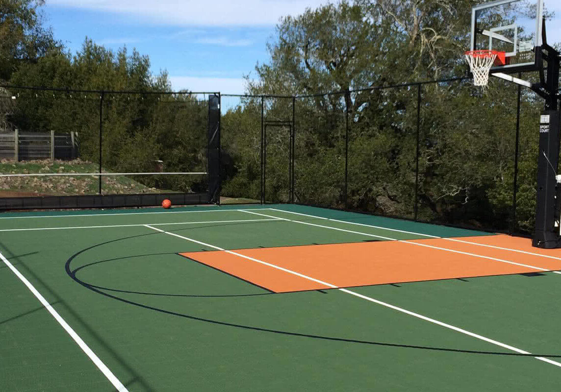 Commercial Basketball Court Installation Sport Court Northern California