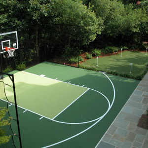 Sport Court Game Court and Custom Putting Green