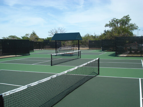 Country Club Pickleball Courts   Outdoor Commercial Acrylic Resurfacing   AllSport America