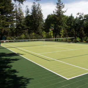 Backyard Tennis Court Multi Sport