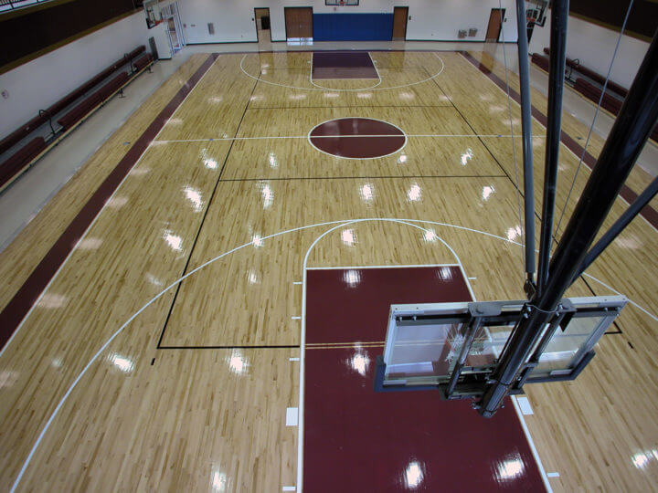 Wood Floor St Phillips Gym AllSport America