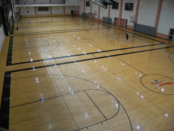 Wood Floor UGA Ramsey Center AllSport America