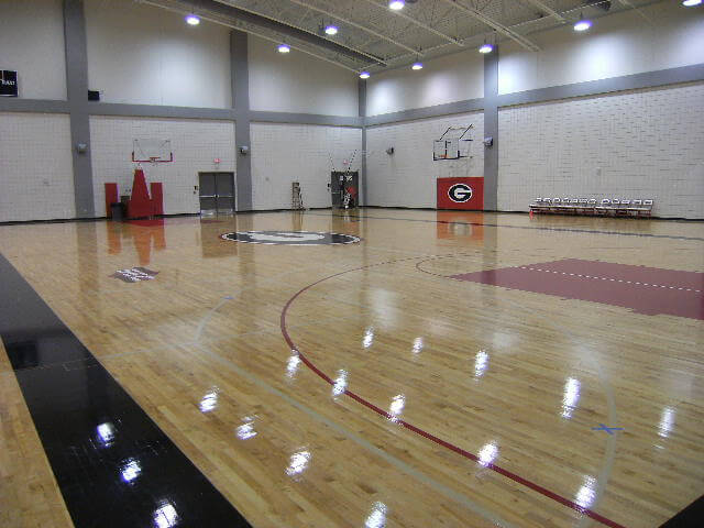 Wood Floor UGA Stegman AllSport America
