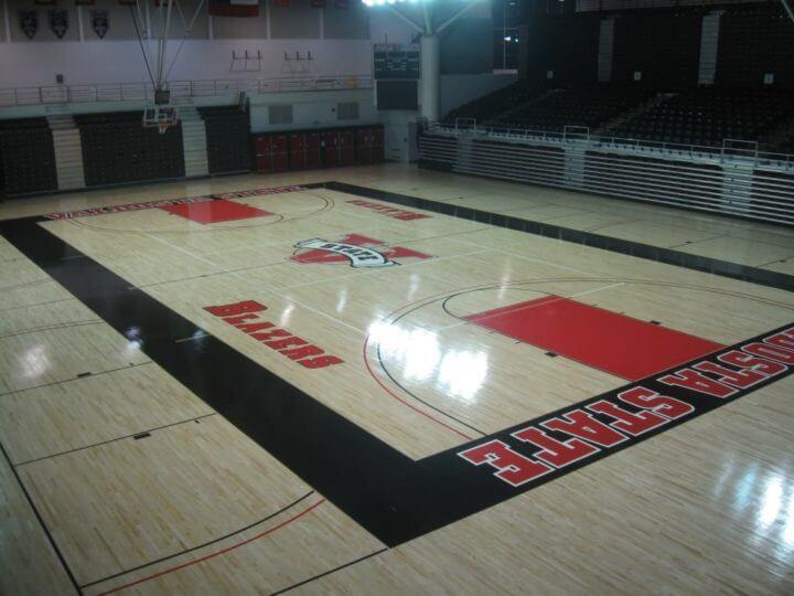 Wood Floor Valdosta State AllSport America