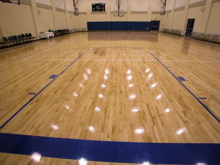 Wood Floor Weber School AllSport America